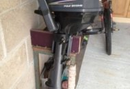 Yamaha 2.5hp 4 stroke outboard engine, $ 500